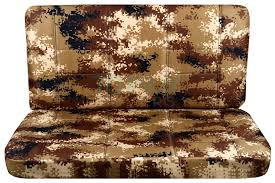camouflage bench seat covers for car truck van suv 60 40 40 20 40