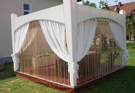 Diy Backyard Canopy Diy Wooden Gazebo Designs And Decorating Ideas