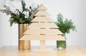 wooden christmas tree diy rustic and modern wood christmas tree