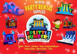 local party rentals eplittle jumpers party rentals business local catholic business