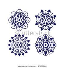 floral traditional ornament mediterranean seamless stock