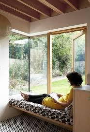 25 best window seats ideas on pinterest bay windows window pamphilon architects adds textured brick extension to house in london