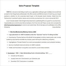 sales proposal template cerescoffee co