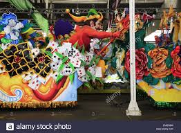 mardi gras parade floats various mardi gras parade floats displaying in the float den in