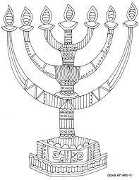 8 of the best most artful hanukkah coloring pages menorah