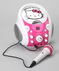 sakar kitty portable karaoke machine zulily