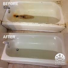 How To Refinish Bathtub Sterling Household Services