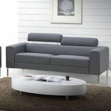 canap design 3 places canapé design 3 places city couleur gris achat vente canape droit