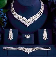 swarovski diamond necklace images Designer swarovski diamond necklace set janeset91 swankish jpg