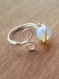 simple wire rings images Cute diy wire ring and adjustable yay find it at the skeleton 39 s jpg