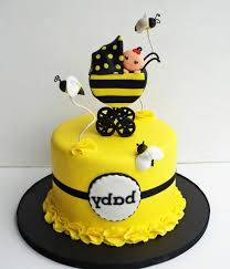 bumblebee cakes bumble bee baby shower cake delightful bee decorations for cakes