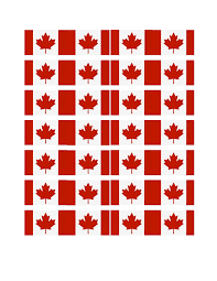 free printable canada cupcake flags spring u0026 summer holidays