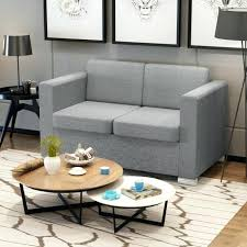 canap relax 2 places tissu cdiscount canape 2 places vidaxl canapac a 2 places tissu gris clair