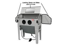 Sandblasting Kitchen Cabinet Doors Sbc420 Sandblast Cabinet Gses