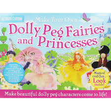 make your own dolly peg fairies and princesses by top that
