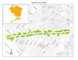 Queens Neighborhood Map Myrtle Avenue Business Improvement District Serving The