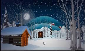 winter night escape walkthrough