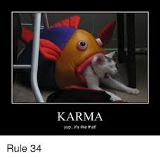 Rule 34 Memes - karma yupit s like that karma meme on esmemes com