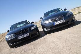 lexus is220d vs bmw 320d totalcar u2013 használt összehasonlító bmw 320d vs lexus 220d u2013 galéria