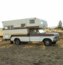 Ford F350 Landscape Truck - 1973 ford f350 pickup and 1978 mitchell over cab camper ebth