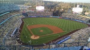 Dodger Stadium Parking Map Dodger Stadium Top Deck 6 Rateyourseats Com