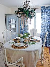 christmas dining room table centerpieces coastal chic table hgtv