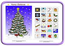 blank calendar template ks1 advent calendar