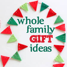 family gifts gift ideas