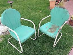 Retro Outdoor Furniture by Patio Furniture Retro Metal Chairs Diy Pallet Surprising Image