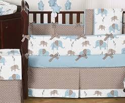 Green Elephant Crib Bedding 108 Best Elephants Images On Pinterest Baby Shower Cakes