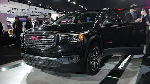 2017 gmc acadia first drive autoblog