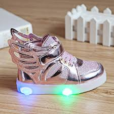 boys size 3 light up shoes new boys girls children led kids light up sports shoes luminous