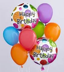 send balloons belfast balloon delivery the birthday balloon bunch by ftd beaudry flowers
