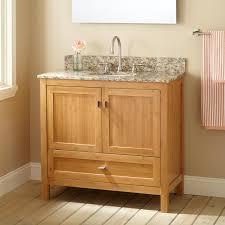 Bathroom Vanity Wood by Light Wood Bathroom Vanities For Good Looking Interior Design