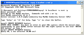 membuat database sederhana menggunakan xp keep fight to be freedom membuat database sederhana dengan mysql