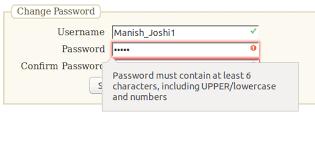 html input pattern safari password validation using html5 and javascript function