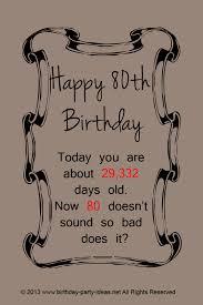 80th birthday party ideas family celebratation 80th birthday party