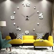 15 big time designs with huge wall clocks