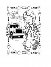 free coloring pages of first grade rhyming educational coloring