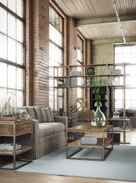 Industrial Home Interior Design by Industrial Interior Created By Alex Coman Using 3ds Max Vray And