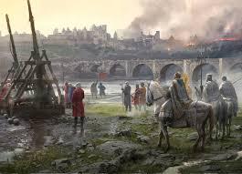 artstation carcassonne siege 1209 jose daniel cabrera peña
