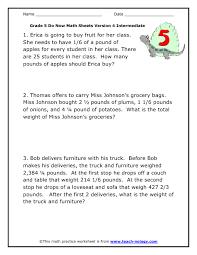 math word problems worksheets 6th grade worksheets