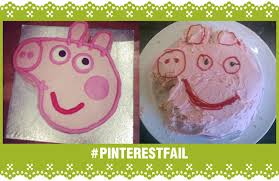 peppa pig cake fail peppa pig cake fail