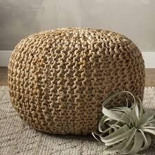 Pouf Ottomans Beachcrest Home Odin Sphere Pouf Reviews Wayfair