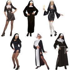 Church Halloween Costumes Nuns Habit Women U0027s Fancy Dress Ebay