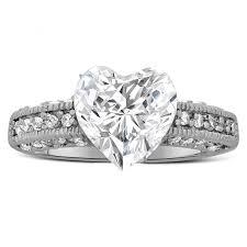 black cubic zirconia engagement rings 2 50 carat shape cubic zirconia engagement ring in sterling