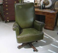 Leather Desk Chair by Antique Leather Office Chair Antique Furniture