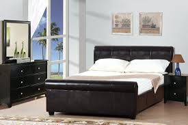 Queen Size Platform Bed Platform Queen Bed Frame F9213 By Poundex In Los Angeles