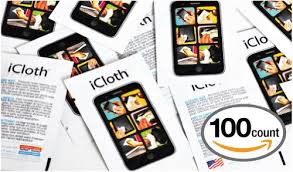 amazon black friday usa icloth touchscreen cleaning wipes 100 pack icloth made in usa