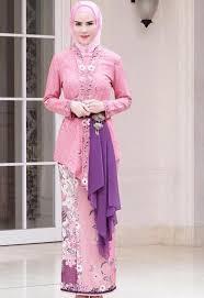 model baju kebaya muslim model kebaya muslim anak muda remaja simpel modern